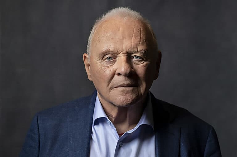Antony Hopkins and actor in the Autism Spectrum